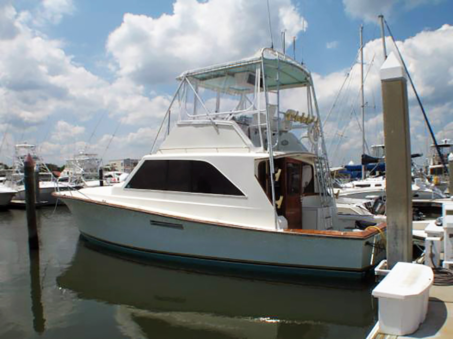 40' 1979 Ocean Sportfish powered with 375hp Detroit Diesel 6-71T''s.