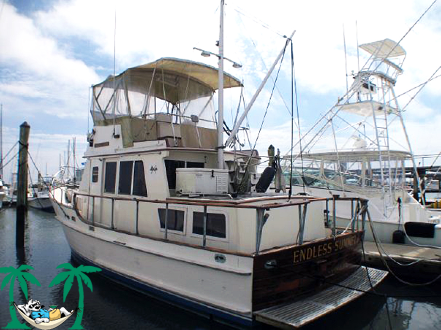 SOLD      1981 36 Island Gypsy DC